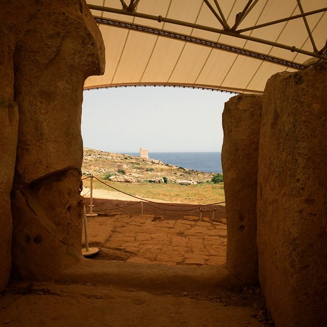 Travel Photo: Ħaġar Qim & Mnajdra Temples World Heritage Site