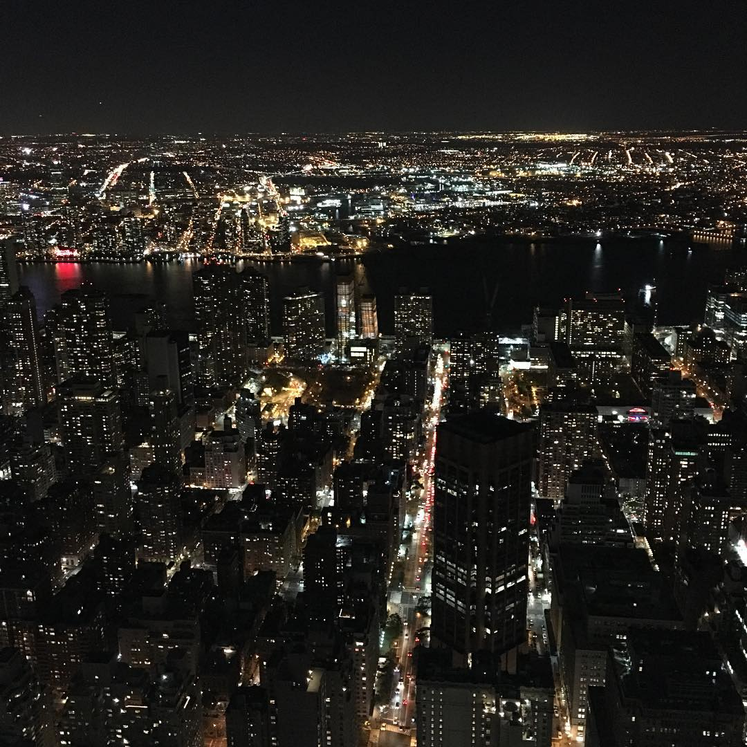 Travel Photo: Manhattan at Night